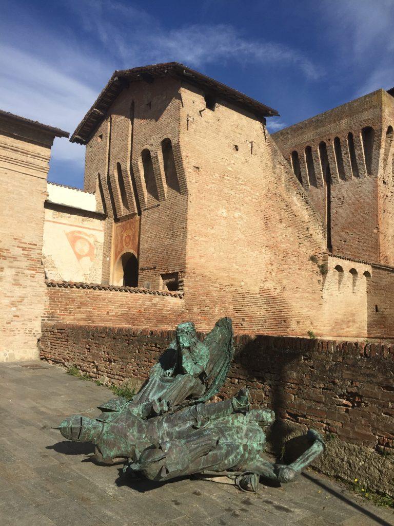 Italian castle detail