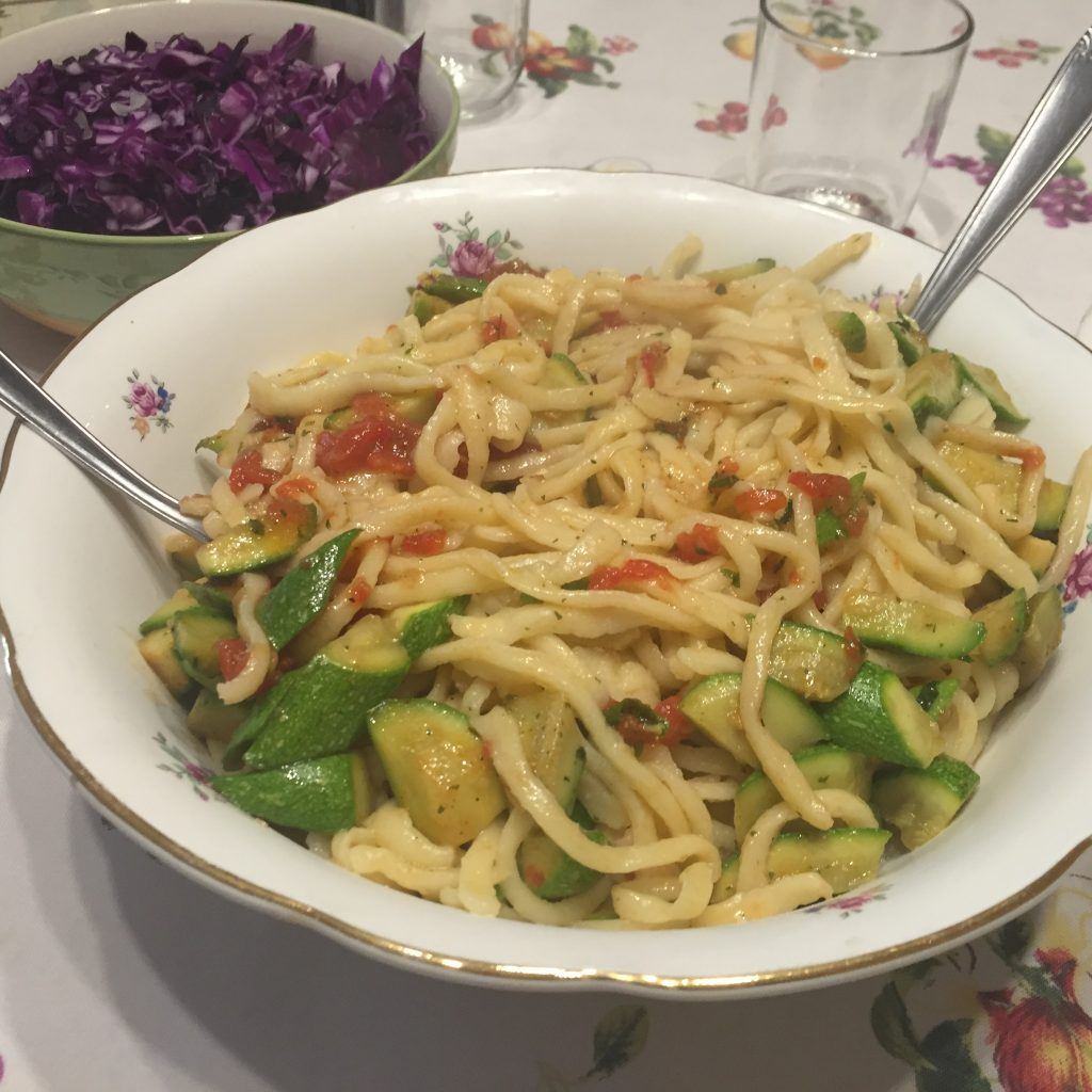 Homemade pasta, naturally vegan